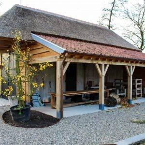 Nieuwbouw schuur te Huissen