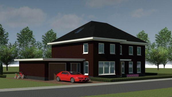 Nieuwbouw woonhuis te Elst 4
