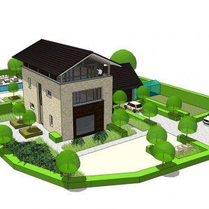 Vrijstaande woning met recreatieve functie / werkfunctie