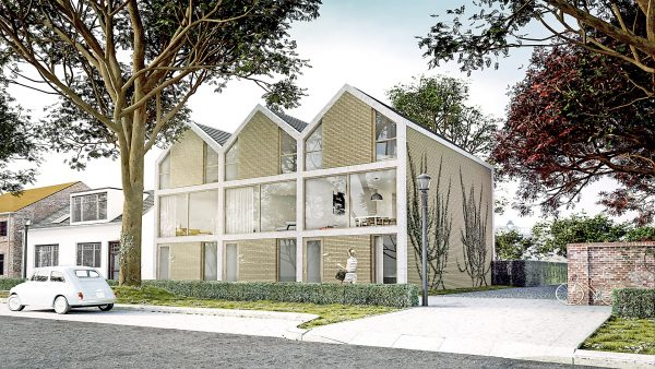 3 Stadswoningen te Arnhem