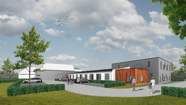 Transformatie voormalige basisschool tot gezondheidscentrum in Veenendaal