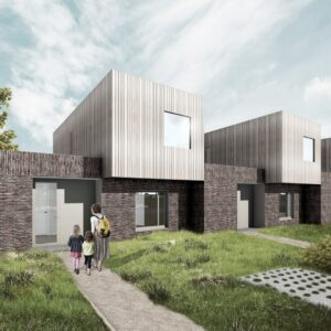Nieuwbouw 6 patio woningen
